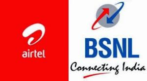 Airtel, BSNL
